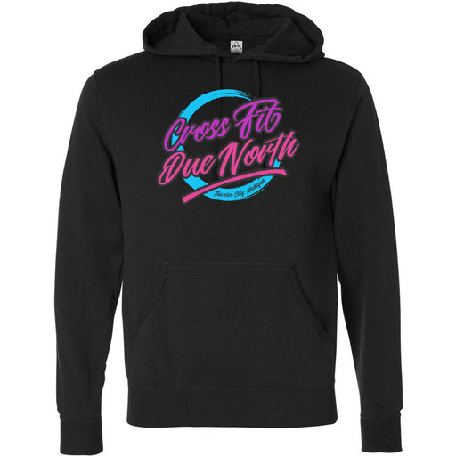 CrossFit Due North - 100 - 80s - Independent - Hooded Pullover Sweatshirt