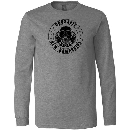 CrossFit New Hampshire - 100 - CFNH One Color - Bella + Canvas 3501 - Men's Long Sleeve Jersey Tee