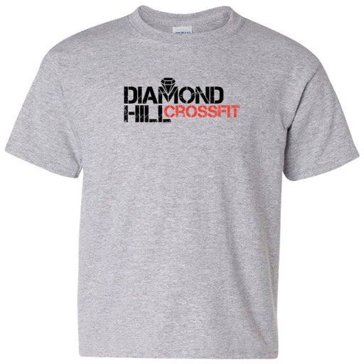 Diamond Hill CrossFit - 100 - Standard - Gildan - Heavy Cotton Youth T-Shirt