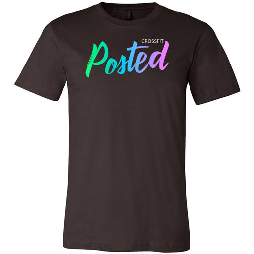 CrossFit Posted - 100 - Gradient - Bella + Canvas - Men's Short Sleeve Jersey Tee