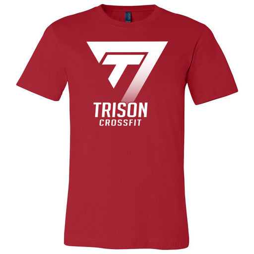 Trison CrossFit - 100 - One Color - Bella + Canvas - Men's Short Sleeve Jersey Tee