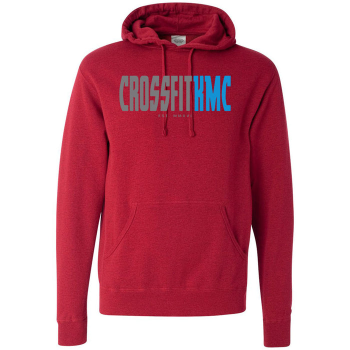 CrossFit KMC - 100 - One Side - Independent - Hooded Pullover Sweatshirt