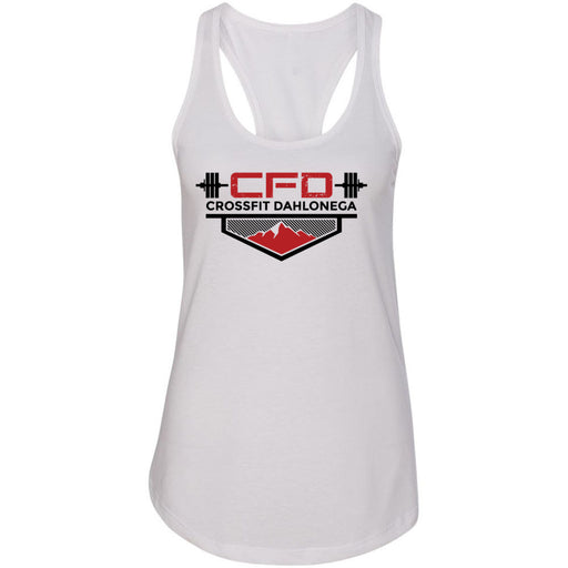 CrossFit Dahlonega - 100 - Standard - Next Level - Women's Ideal Racerback Tank