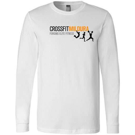 CrossFit Mildura - 100 - Standard - Bella + Canvas 3501 - Men's Long Sleeve Jersey Tee
