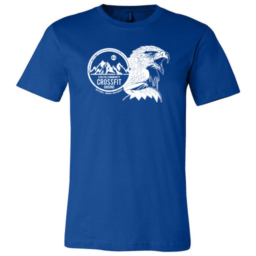 CrossFit Gibsons - 200 - Eagle - Bella + Canvas - Men's Short Sleeve Jersey Tee