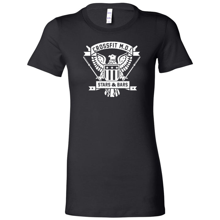 CrossFit MDI - 100 - Stars & Bars - Bella + Canvas - Women's The Favorite Tee
