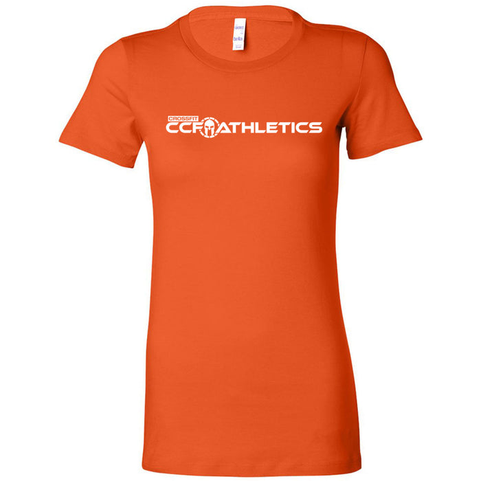 CrossFit CCF Athletics - 100 - Standard - Bella + Canvas - Women's The Favorite Tee