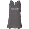 CrossFit Billings - 100 - Tag Line - Bella + Canvas - Women's Flowy Racerback Tank