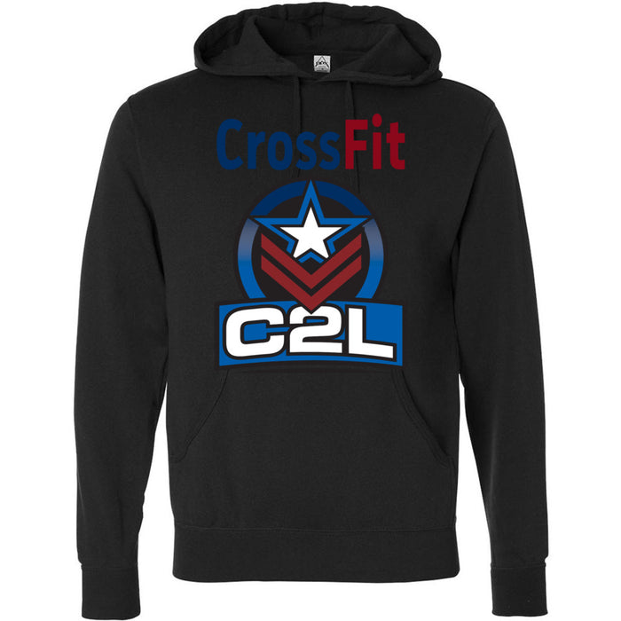 CrossFit C2L - Standard - Independent - Hooded Pullover Sweatshirt