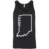 CrossFit Dash - 100 - Indiana Dash - Bella + Canvas - Men's Jersey Tank