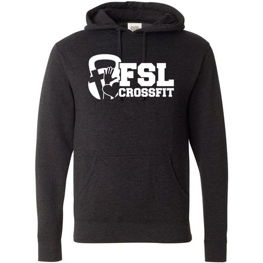FSL CrossFit - 100 - White - Independent - Hooded Pullover Sweatshirt