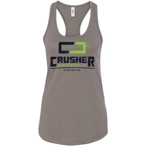 Crusher CrossFit - 100 - Standard - Next Level - Women's Ideal Racerback Tank