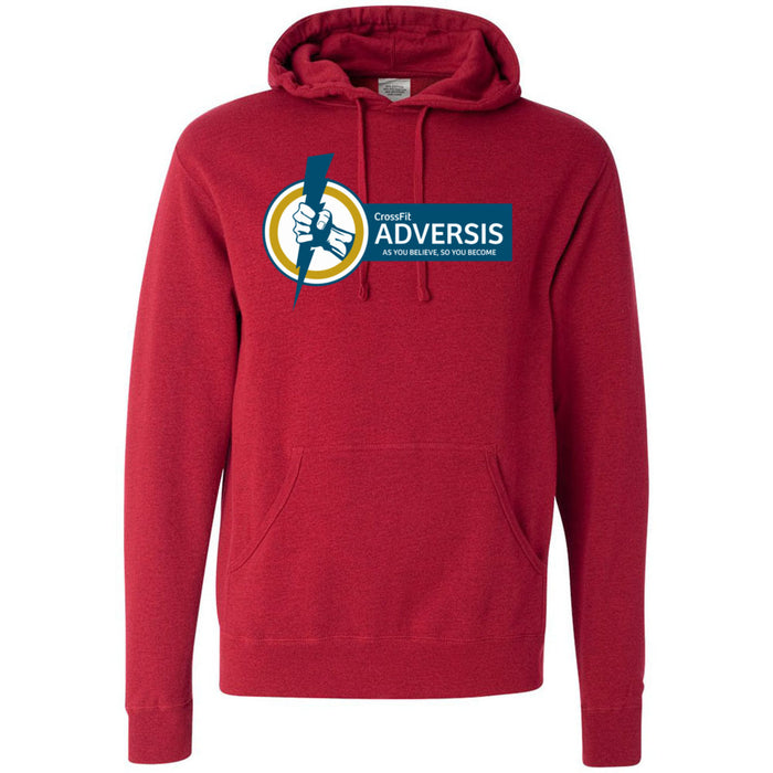CrossFit Adversis - 100 - Standard - Independent - Hooded Pullover Sweatshirt