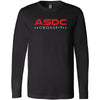 ASDC CrossFit - 100 - ASDC - Bella + Canvas 3501 - Men's Long Sleeve Jersey Tee