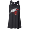 CrossFit True - 100 - 2020 Open 20.1 - Bella + Canvas - Women's Flowy Racerback Tank