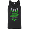 Made2Live CrossFit - 100 - 2020 Open Neon Gray - Bella + Canvas - Men's Jersey Tank