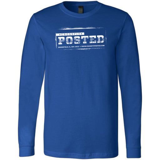 CrossFit Posted - 100 - Standard - Bella + Canvas 3501 - Men's Long Sleeve Jersey Tee