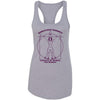Ahwatukee CrossFit - 100 - Female CrossFitter Purple - Next Level - Women's Ideal Racerback Tank
