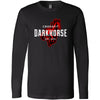 CrossFit Dark Horse - 100 - Standard - Bella + Canvas 3501 - Men's Long Sleeve Jersey Tee
