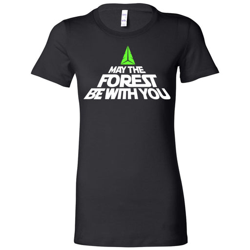 CrossFit Forest - 200 - May the Forest Be With You - Bella + Canvas - Women's The Favorite Tee