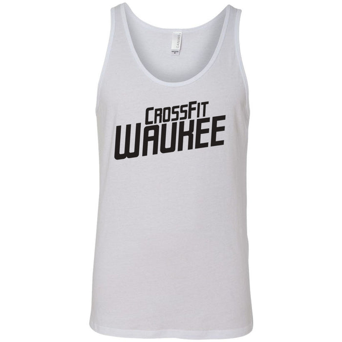 CrossFit Waukee - 100 - Angled - Bella + Canvas - Men's Jersey Tank