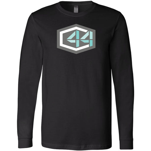 Crusher CrossFit - 202 - C44 - Bella + Canvas 3501 - Men's Long Sleeve Jersey Tee