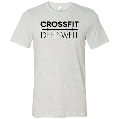 CrossFit Deep Well - 100 - CFDW - Bella + Canvas - Men's Short Sleeve Jersey Tee