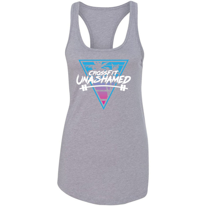CrossFit Unashamed - 100 - Tropical - Next Level - Women's Ideal Racerback Tank