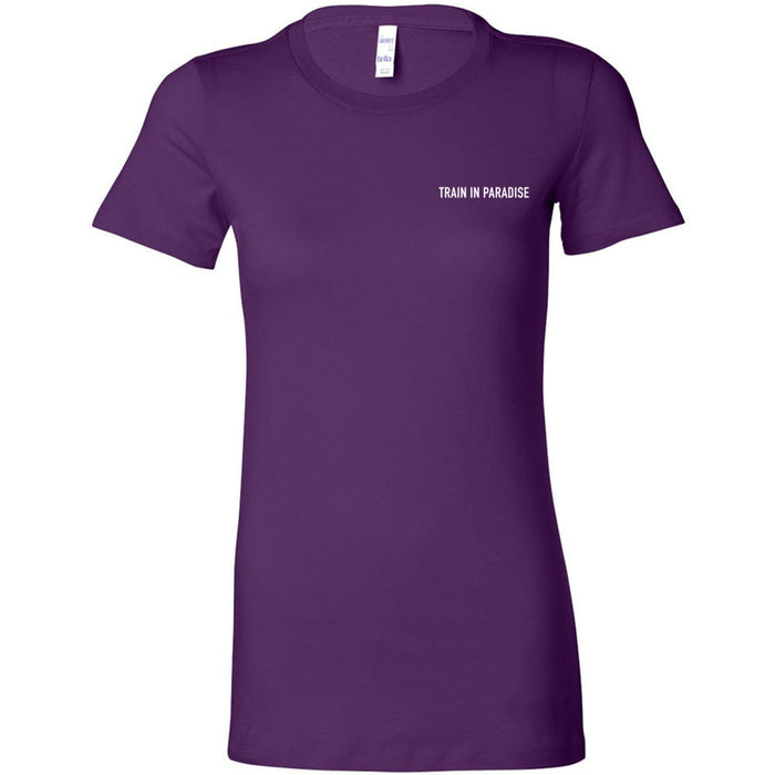 CrossFit Naples - 200 - Train in Paradise - Bella + Canvas - Women's The Favorite Tee