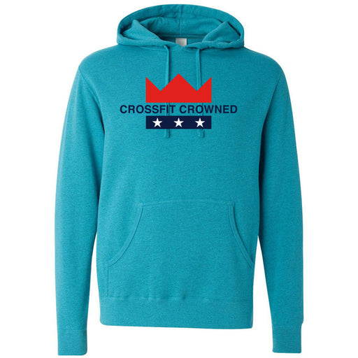 CrossFit Crowned - 100 - Standard - Independent - Hooded Pullover Sweatshirt