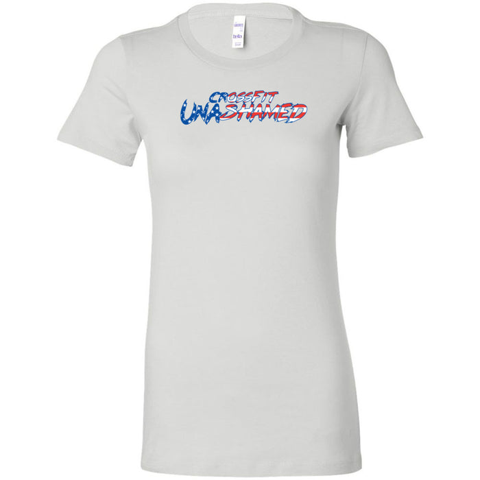 CrossFit Unashamed - 100 - USA - Bella + Canvas - Women's The Favorite Tee
