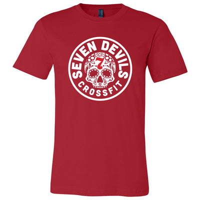 Seven Devils CrossFit - 100 - Standard - Bella + Canvas - Men's Short Sleeve Jersey Tee