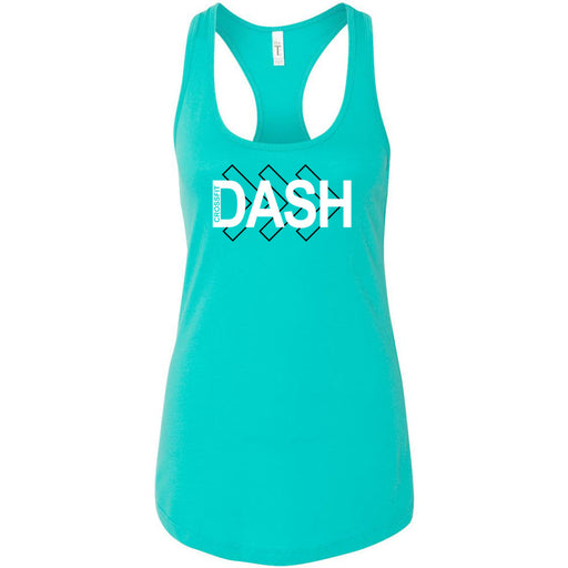 CrossFit Dash - 100 - Right Arrow - Next Level - Women's Ideal Racerback Tank