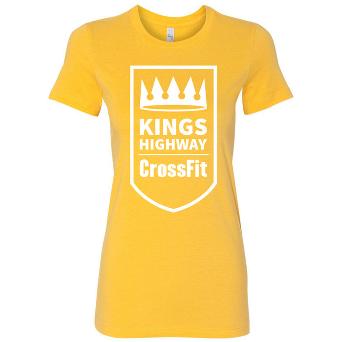 Kings Highway CrossFit - 100 - One Color - Bella + Canvas - Women's The Favorite Tee