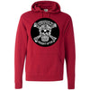 CrossFit Aptos - 100 - Skull - Independent - Hooded Pullover Sweatshirt