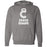 Caged CrossFit - 100 - White - Independent - Hooded Pullover Sweatshirt