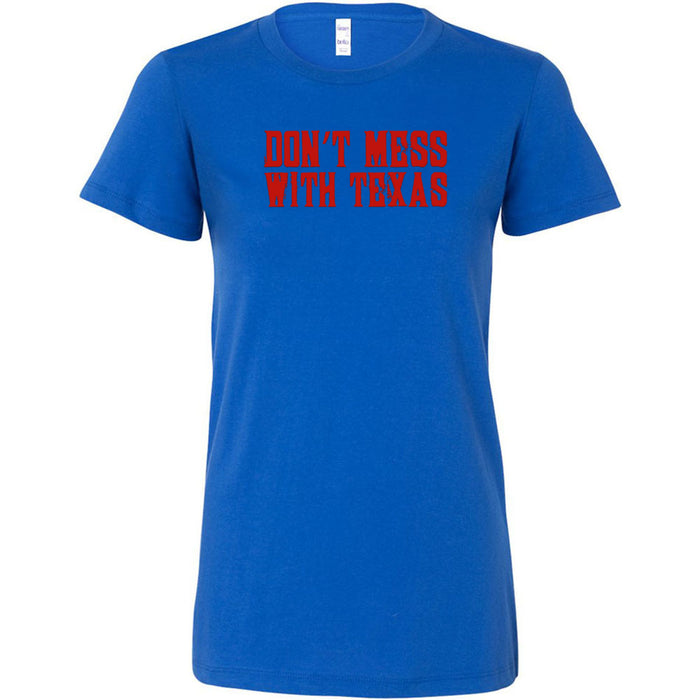 CrossFit Beaumont - 200 - Don't Mess With Texas - Bella + Canvas - Women's The Favorite Tee
