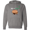 Indy South CrossFit - 100 - Fistbump - Independent - Hooded Pullover Sweatshirt