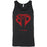 CrossFit Bound - 100 - Cobra Red - Bella + Canvas - Men's Jersey Tank