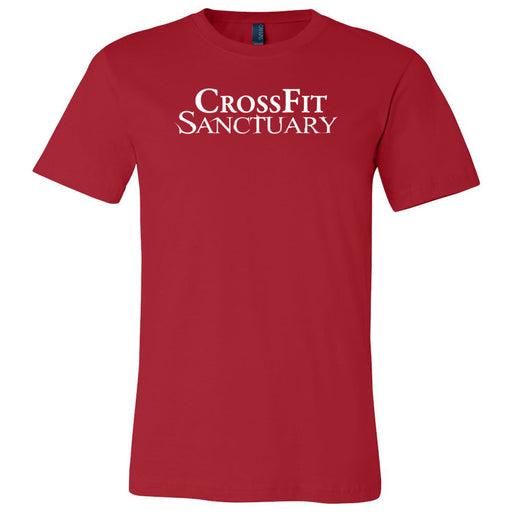 CrossFit Sanctuary - One Color - Bella + Canvas - Men's Short Sleeve Jersey Tee
