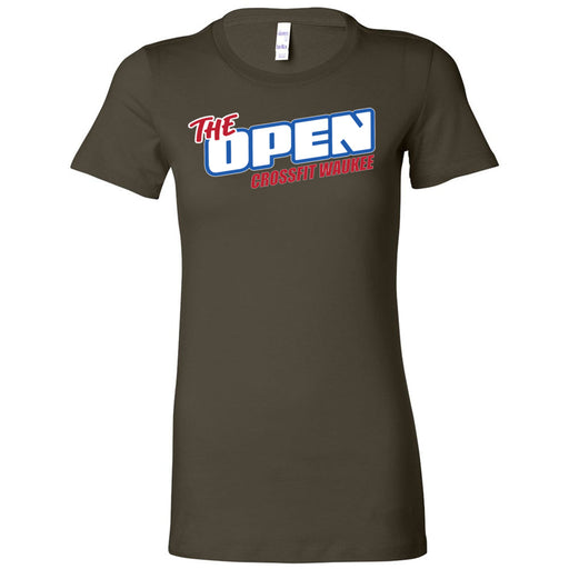CrossFit Waukee - 100 - The Open - Bella + Canvas - Women's The Favorite Tee