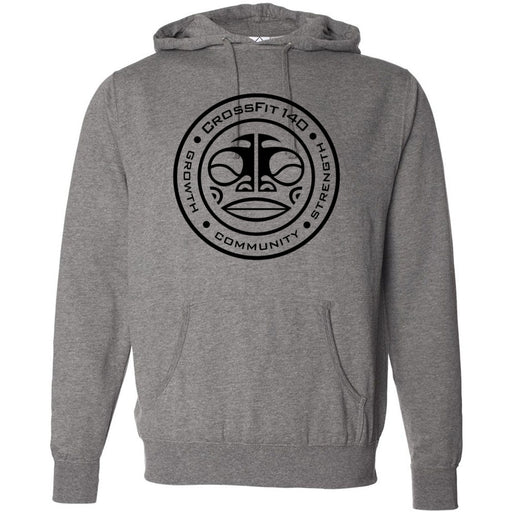 CrossFit 140 - Tiki - Independent - Hooded Pullover Sweatshirt