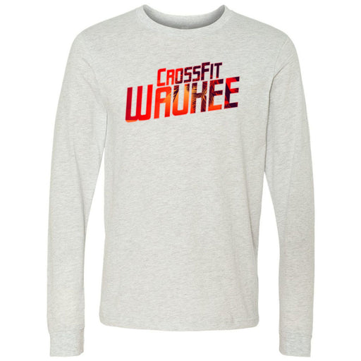 CrossFit Waukee - 100 - Summer - Bella + Canvas 3501 - Men's Long Sleeve Jersey Tee