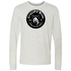 CrossFit Bruin - 100 - Standard - Bella + Canvas 3501 - Men's Long Sleeve Jersey Tee