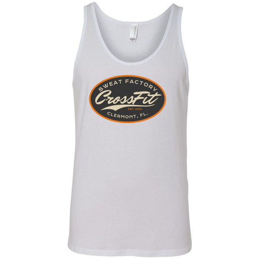 Sweat Factory CrossFit - 100 - DD3 - Bella + Canvas - Men's Jersey Tank