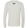 CrossFit Brigade - 202 - Navy - Bella + Canvas 3501 - Men's Long Sleeve Jersey Tee