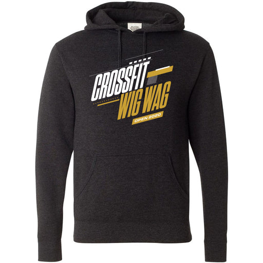 CrossFit Wig Wag - 100 - 2020 Open 20.1 Gold - Independent - Hooded Pullover Sweatshirt