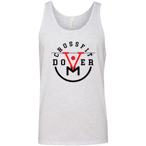 CrossFit Dover - 100 - Barbell - Bella + Canvas - Men's Jersey Tank