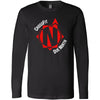 CrossFit Due North - 100 - Standard - Bella + Canvas 3501 - Men's Long Sleeve Jersey Tee
