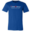 CrossFit Billings - 100 - Tag Line - Bella + Canvas - Men's Short Sleeve Jersey Tee